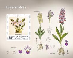 Djibouti  2018  Orchid S201810 - Yibuti (1977-...)