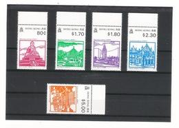 HONG KONG  /  LANDMARKS  1991  /  Faciale : 11 $ 60  ( Série De 5 Timbres ) - Hong Kong (1997-...)
