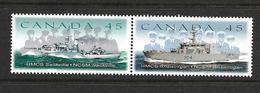 CANADA 1998 BATEAUX  YVERT N°1618/19 NEUF MNH** - Schiffe