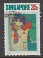 Singapore 179 1972 Contemporany Art 35c Contemporary Force,used - Singapore (1959-...)