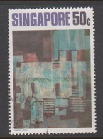 Singapore 180 1972 Contemporany Art 50cRhythms In Blue,used - Singapore (1959-...)