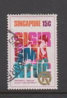 Singapore 193 1973 PQR, 15c SISIR,SMA,NTUC,used - Singapore (1959-...)