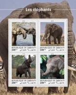 Djibouti 2018  Elephants Fauna  S201810 - Djibouti (1977-...)