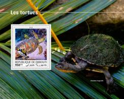 Djibouti 2018  Turtles Fauna  S201810 - Djibouti (1977-...)