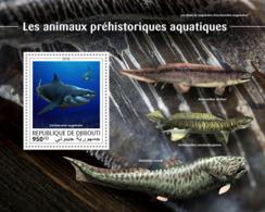 Djibouti 2018  Fauna Prehistoric Water Animals  S201810 - Djibouti (1977-...)