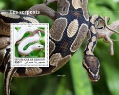 Djibouti 2018  Fauna Snakes S201810 - Djibouti (1977-...)