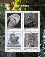Djibouti 2018  Fauna Owls S201810 - Djibouti (1977-...)