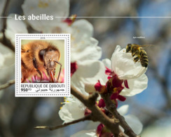 Djibouti 2018  Fauna Bees S201810 - Djibouti (1977-...)