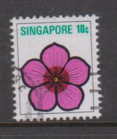 Singapore 218 1973 Flowers Definitives,10c,used - Singapore (1959-...)