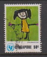 Singapore 248 1974 UNICEF,50c My Aunt,used - Singapore (1959-...)