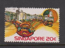 Singapore 250 1975 Scenic,20c Singapore River,used - Singapore (1959-...)