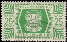 WALLIS & FUTUNA ISLANDS - Scott #129 Ivi Poo / Used Stamp - Wallis And Futuna