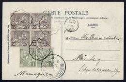1906, Monaco, 11 (2) U. 12 (4), Brief - Monaco