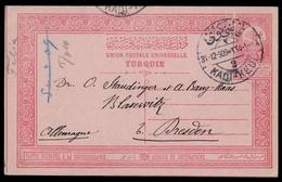 1909, Türkei, P 29, Brief - Türkei