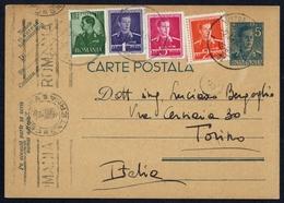 1942, Rumänien, P 103 U.a., Brief - Rumänien