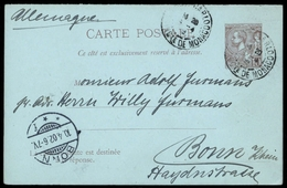 1902, Monaco, P 8, Brief - Monaco