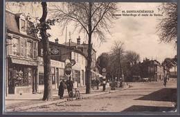 SAINTE - MENEHOULD . Avenue Victor - Hugo Et Route De Verdun . - Sainte-Menehould