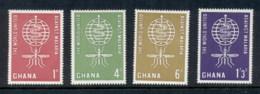 Ghana 1962 WHO Malaria Eradication MUH - Ghana (1957-...)