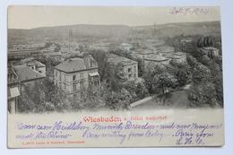 Hotel Kaiserhof, Wiesbaden, Deutschland Germany, 1904, Embossed Postcard - Wiesbaden