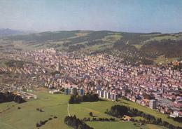 Suisse,helvetia, Swiss,NEUCHATEL,LA CHAUX DE FONDS,VUE AERIENNE - NE Neuenburg