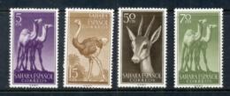 Spanish Sahara 1957 Wildlife (4/6) MUH - Spanish Sahara