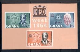 Ghana 1964 Human Rights Day MS MUH - Ghana (1957-...)