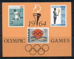 Ghana 1964 Summer Olympics Tokyo MS MUH - Ghana (1957-...)