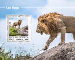 Djibouti 2018  Fauna Lions  S201810 - Djibouti (1977-...)