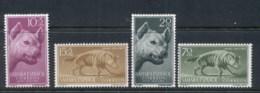 Spanish Sahara 1957 Stamp Day Hyena MUH - Spanish Sahara