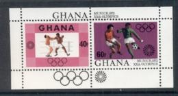 Ghana 1972 Summer Olympics Munich MS MUH - Ghana (1957-...)