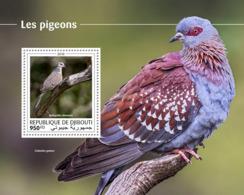 Djibouti 2018  Fauna Pigeons  S201810 - Djibouti (1977-...)
