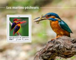 Djibouti 2018  Fauna  Kingfishers S201810 - Djibouti (1977-...)