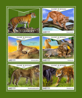 Guinea Bissau 2018  Fauna  Big Cats  S201810 - Guinea-Bissau