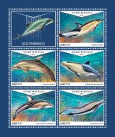 Guinea Bissau 2018  Fauna  Dolphins S201810 - Guinea-Bissau