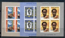 Ghana 1961 Founders Day 3x MUH - Ghana (1957-...)