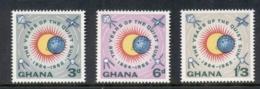 Ghana 1964 Quiet Sun Year New Colours MUH - Ghana (1957-...)