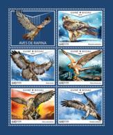 Guinea Bissau 2018  Fauna Birds Of Prey S201810 - Guinea-Bissau