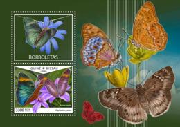 Guinea Bissau 2018  Fauna Butterflies  S201810 - Guinea-Bissau