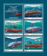 Guinea Bissau 2018  Submarines S201810 - Guinea-Bissau