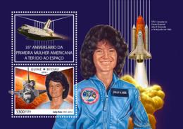 Guinea Bissau 2018  First American Woman In Space S201810 - Guinea-Bissau