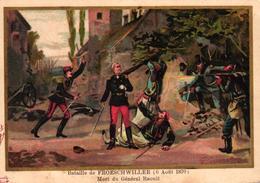 CHROMO - BATAILLE DE BORNY 14 AOUT 1870 - Trade Cards