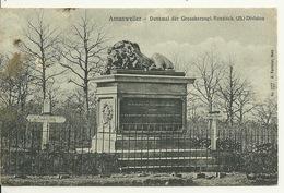 57 - AMANWEILER - AMANVILLERS / DENKMAL Der GROSSHERZOGL. HESSISCH. 25. DIVISION - Autres Communes