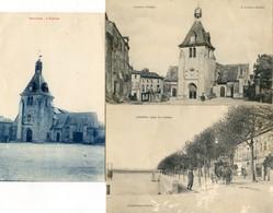 44 - Ancenis - Eglise - Lot E 3 Cartes - Ancenis