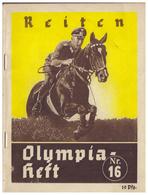 DT- Reich (006598) Olympia- Heft Nr. 16 Reiten - Sports