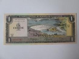 Rare! El Salvador 1 Colon 1981 UNC Banknote - Salvador