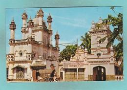 Old Post Card Of Mohammedan Mosque,Colombo,(Ceylon),Sri Lanka.,R73. - Sri Lanka (Ceylon)