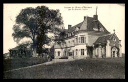 36 - ST-MARCEL - CHATEAU DU HAUT-CLUZEAU - CARTE DE SERVICE PHOTO M. RAMEAU, ST-GAULTIER - France