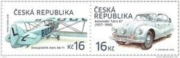 CZ 2016-903-4 TRANSPORT, CZECH REPUBLIK,1 X 2v, MNH - Tchéquie