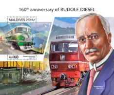 Maldives 2018  Rudolf Diesel  S201810 - Maldives (1965-...)
