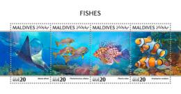 Maldives 2018  Fishes Fauna   S201810 - Maldives (1965-...)